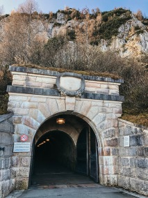 Tunnel leading into the mtn