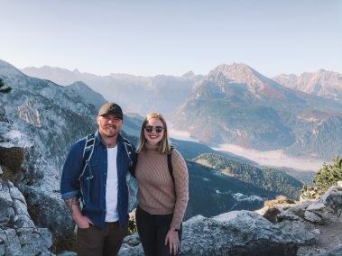 Wayde and I at the top of Kelhstien